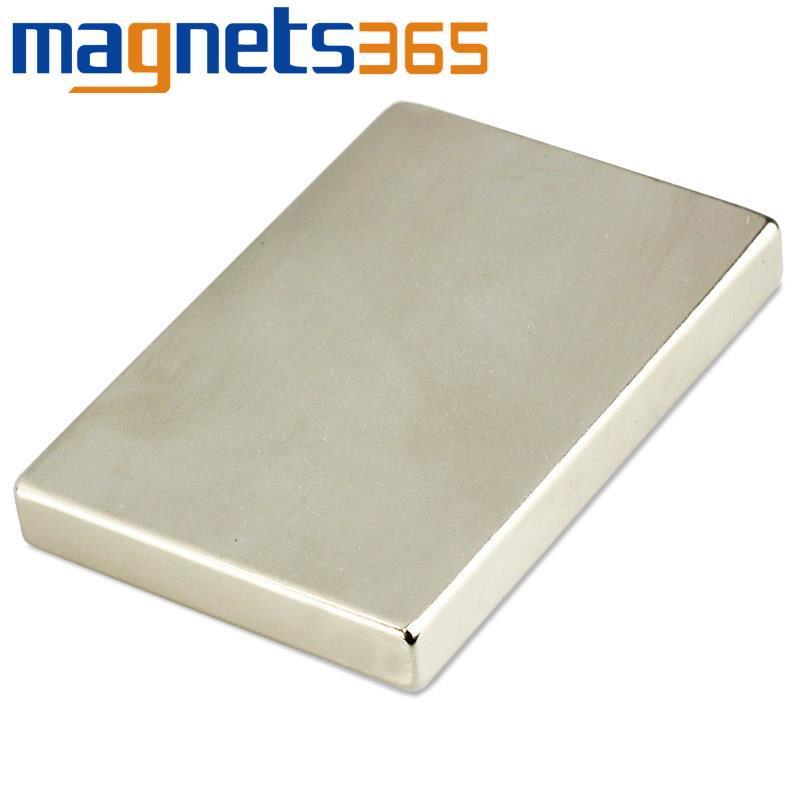 Гаджет  1pc Strong Block Magnet 60mm x 40mm x 7mm Rare Earth Neodymium N35 None Строительство и Недвижимость