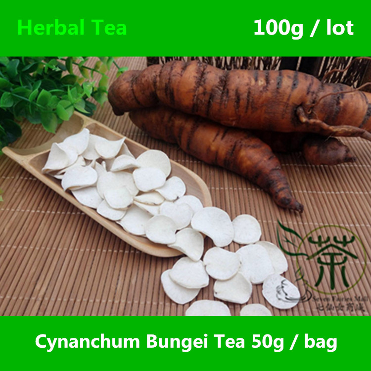 Cynanchum Bungei  Tea Nourishing Treasures 100g, Chinese Cynanchum Natural Herbal Tea, Bai Shou Wu Authentic Featured Dried Root