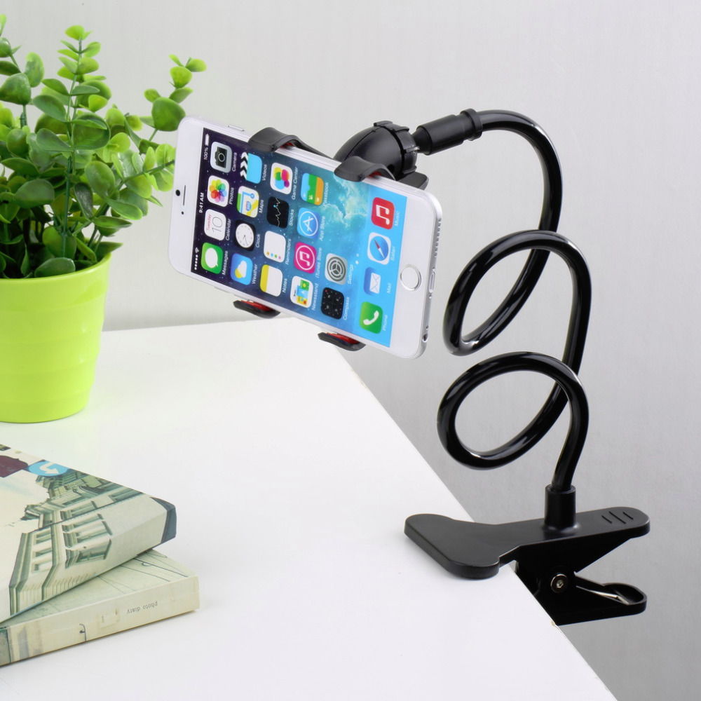 Universal Lazy Bed Desktop Car Stand Mount Holder For Cell Phone Long Arm 2016 wholesale(China (Mainland))
