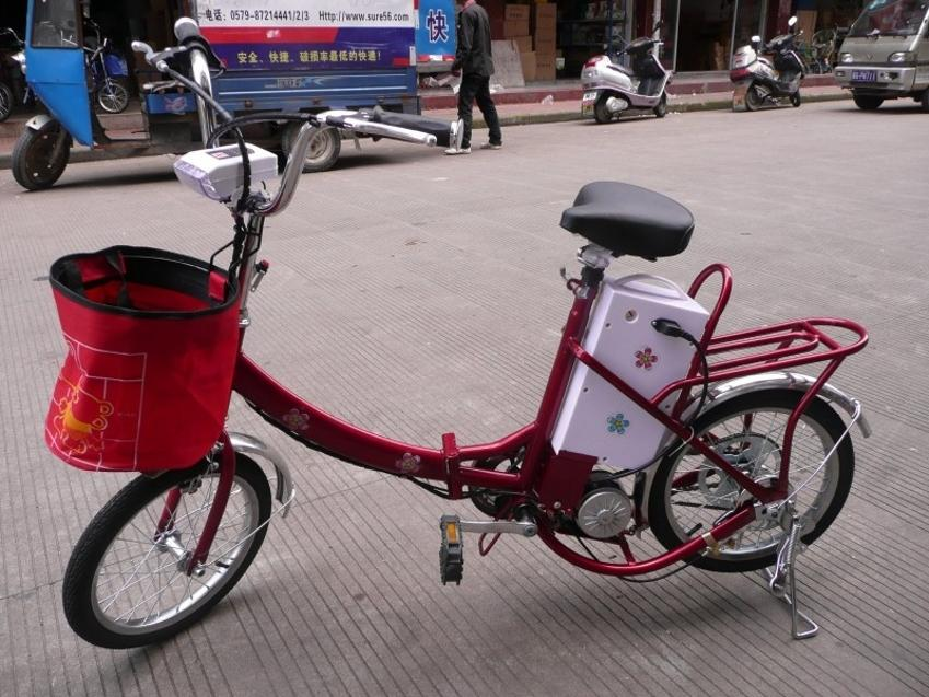 18 -inch folding bike electric cars Knight excellent gear motor manned electric bicycle(China (Mainland))