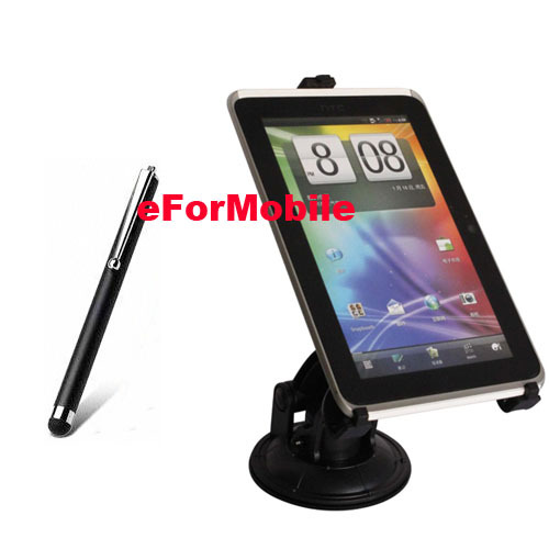 Universal Tablet PC Holder Stand Rotating Car Holder Window Sunction Holder Stylus For Huawei MediaPad M2
