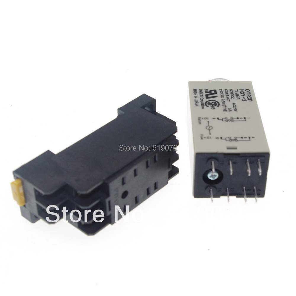 Time Delay Relay 220v Power on Time Delay Relay