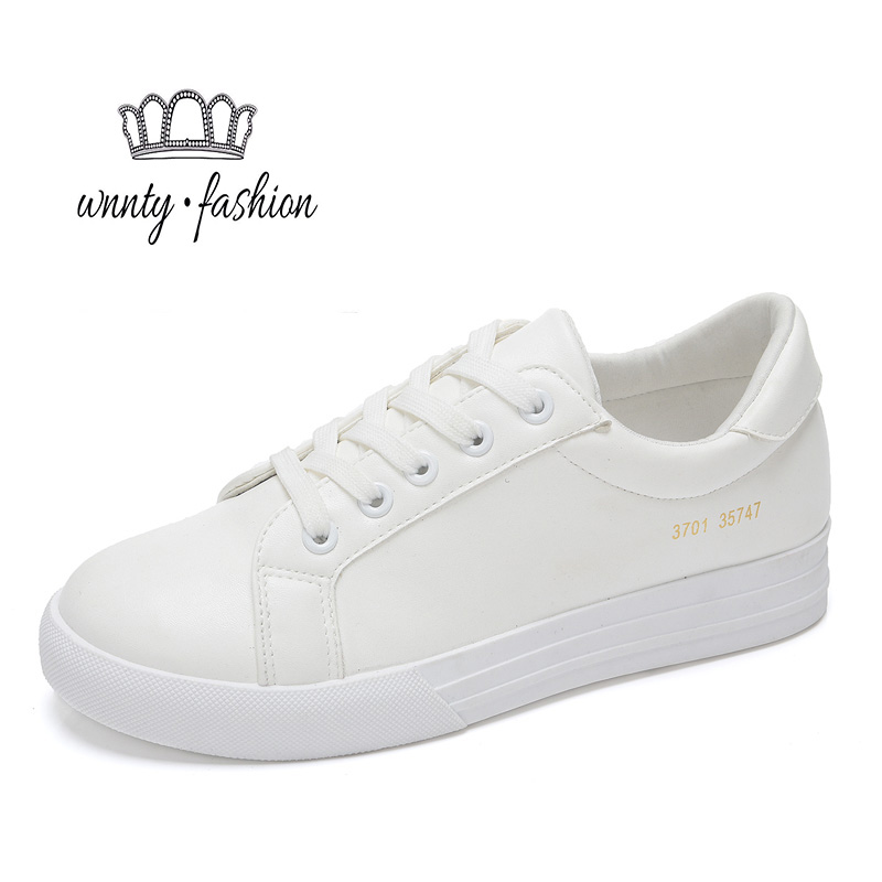Tenis Chaussure Femme Feminino Shoes Woman Schoenen Zapatos Zapatillas Mujer White Black Casual Slip 2016 Sapatos - only love forever store