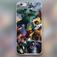 For Marvel super hero puzzle Design plastic case cover cell phone cases for Apple iphone 4 4s 5 5c 5s 6 6s 6plus hard shell(China (Mainland))