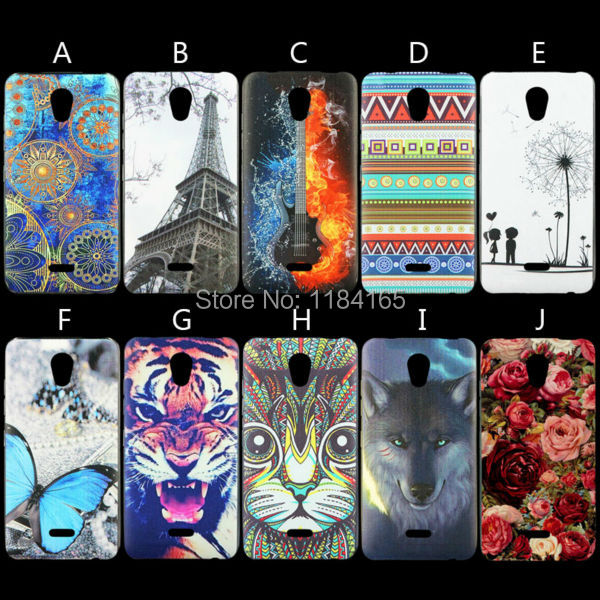 10 Cartoon Colorful Patterns Color Painting Soft Skin Gel TPU Case for Highscreen Easy S/Easy S Pro 5 inch Phone Back Cover(China (Mainland))