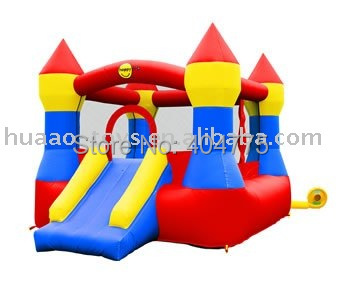 2015 hot sale inflatable mini Jumper bouncer HABC-114+1 free CE/UL air blower