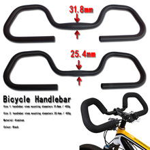Mountain road cruisers BMX Cycle Bicycle bike butterfly bend handlebar Bar 25.4/31.8*580/600mm black Alloy