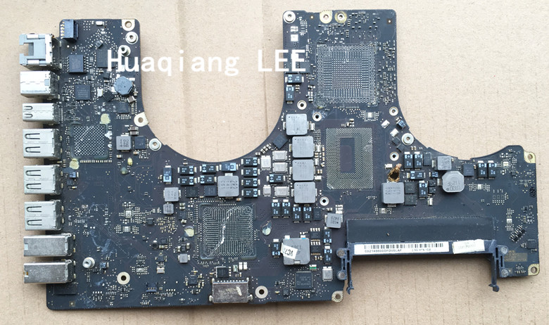 "2011years 820-2914 820-2914-A/B Faulty Logic Board For Apple MacBook Pro 17"" A1297 repair"