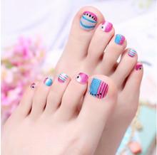 01#toe sticker fashion nail art maniture nail sticker  decal manicure pedicure
