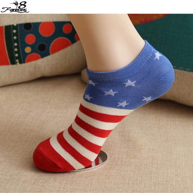 1 пара 2016 новые носки флаг рисунок женщины мужчины носки спорт унисекса смеси хлопка ...