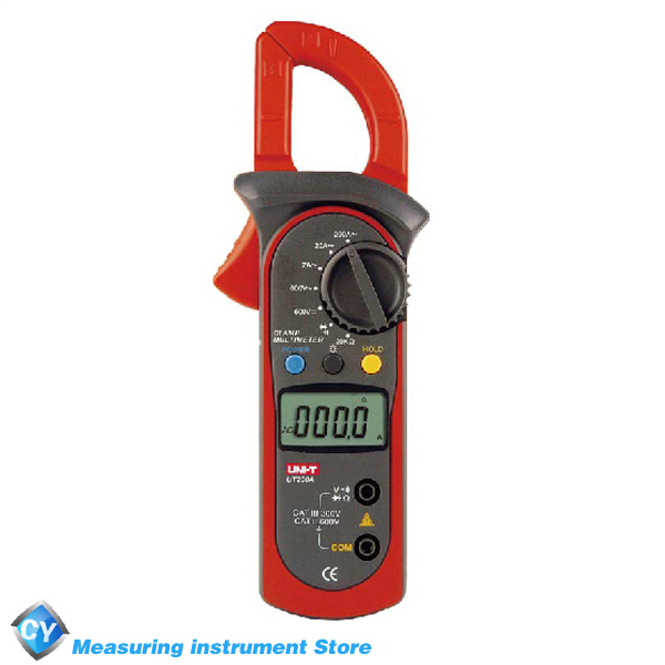 UNI-T UT200A High Performance Digital AC DC Clamp Meter 4000 Counts Electrical Current Voltage Tester(China (Mainland))