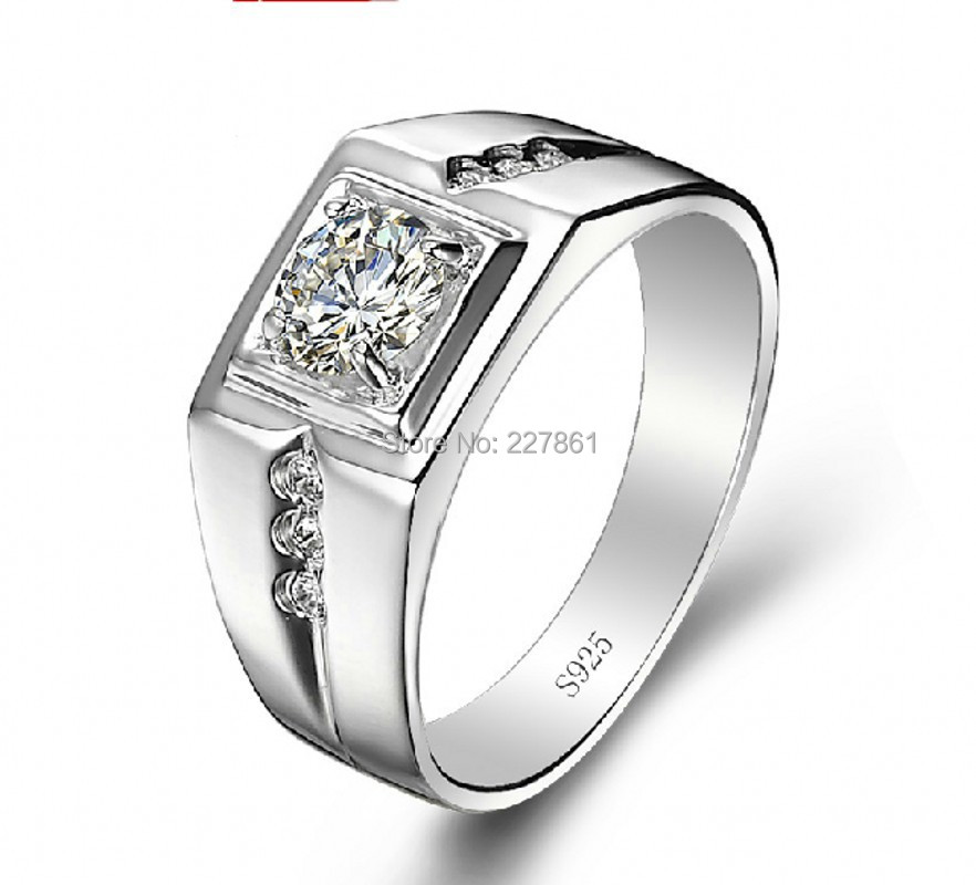 Fashion Sterling Silver Men s Match the wedding Ring Size 8 8 5 9 9 5 10