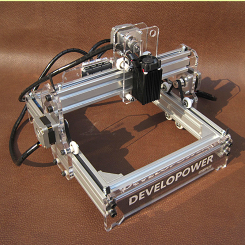 500mw Mini Laser Engraver Diy Engraving Machine Cutting Plotter Mini Carved Chapter(China (Mainland))