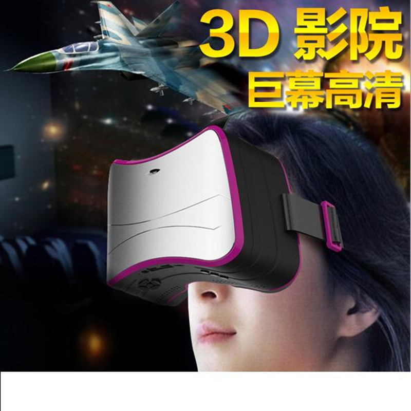 ถูก 2016 VR 3Dภาพยนตร์วิดีโอหน้าจอมินิละครล่าสุดQuad-coreสมาร์ทแว่นตาความจริงเสมือนหัวติดเครื่อง