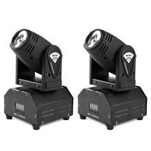 Buy 2X10w LED Moving Head Light RGBW Mini Moving Beams DJ Party Concert Nightclub Lives for $160.00 in AliExpress store