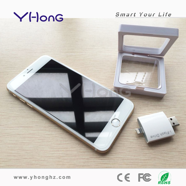 Newest design mobile phone usb flash drive for apple iPhone 6/Plus, compatible with new model of iPhone USB Flash Drive(China (Mainland))
