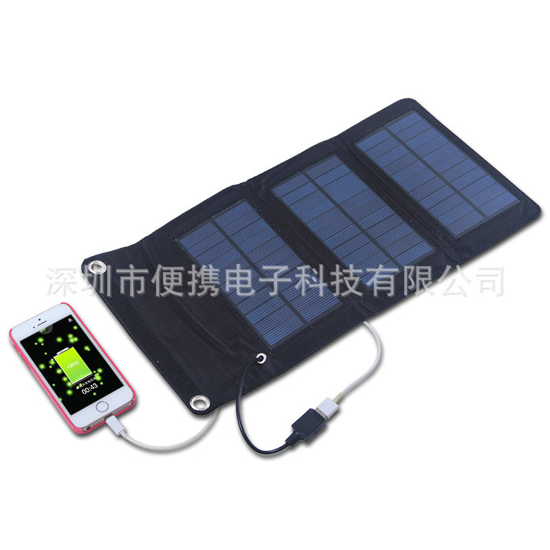 Strange new solar products 5w solar cell phone charger portable promotional gifts(China (Mainland))