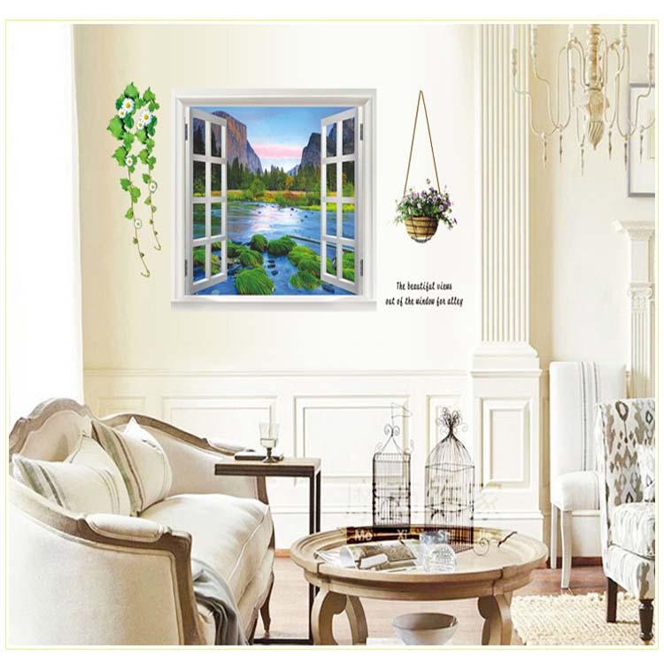 DIY 3D Wall Stickers big szie 60x90cm PVC Home Decoration