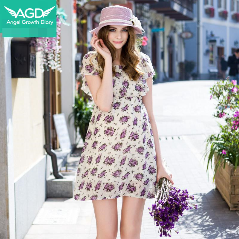 Buy New Summer Spring Pregnant Woman Maternity Dresses Clothing Clothes