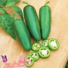 Free Shipping 100 Jalapeno Chile Pepper Seeds Fast Growing Diy Home Garden Vegetable Plant, Most Popular Pepper