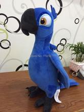 2014 Rio Rio2 Blu loro muñeca muñecas juguetes de peluche regalo de cumpleaños del niño el envío gratuito colección