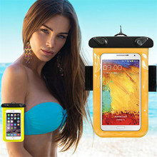 Buy Waterproof Pouch Universal Mobile Phone Bag Swimming Case Easy Take Photo Underwater Lenovo Vibe C A2020 Shot Z90 X2 P1M K5 for $3.54 in AliExpress store