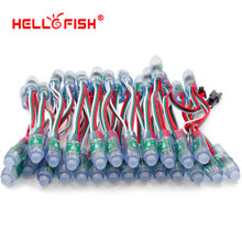 Hello Fish 12mm WS2811 Full Color Pixel Module DC5V IP68 Waterproof ,50pcs/ lot, Free Shipping(China (Mainland))