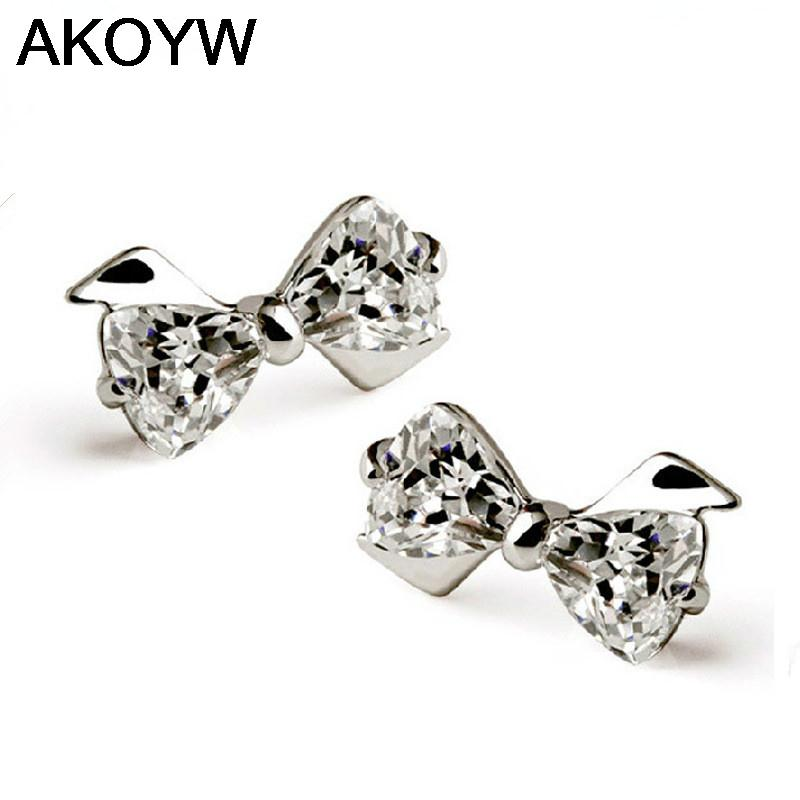 Buy s925 sterling silver earrings cute for High end gifts for women