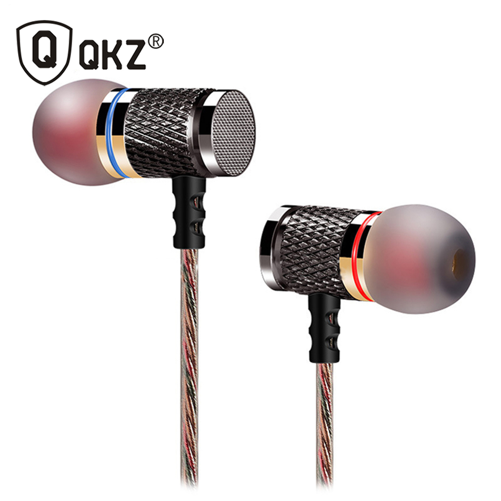 KZ ED2 Refined Version The Phone Headset Wire Headset Music Earphone Metal Earphone Ear Headphones