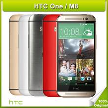 "HTC One M8 Original Unlocked SmartPhone Android OS 4.4 Quad-Core 32GB/ 16GB ROM 2GB RAM 5.0"" 1920x1080p 5MP dropshipping(China (Mainland))"