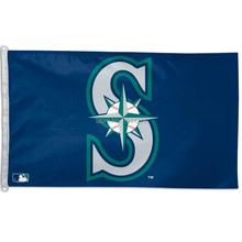 Buy Seattle Mariners Flag 3' x 5' FT MLB Banner brass metal holes Flag Size No.4 144* 96cm Custom flag for $6.49 in AliExpress store
