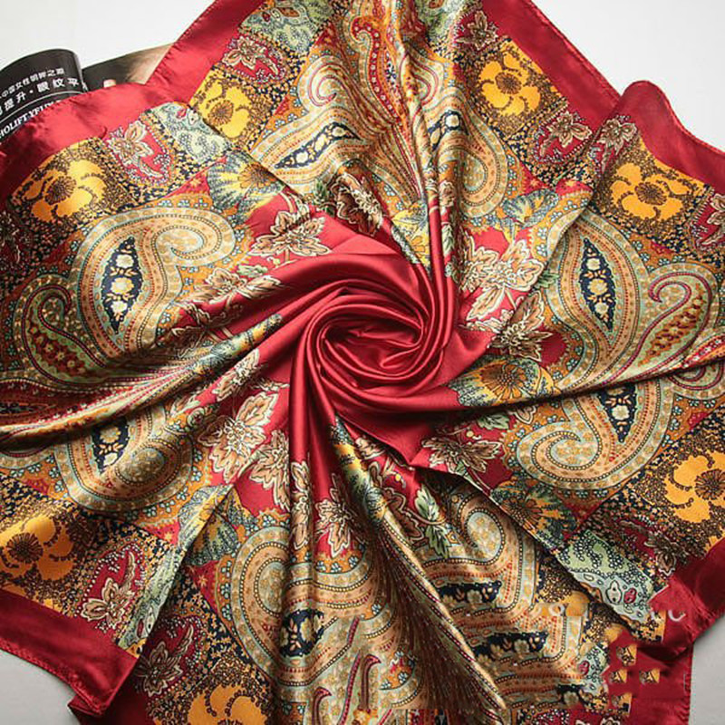 Luxury Fashion Letter Scarf Women Vincent Van Gogh Oil Paint Coffee House Silk Scarf Women Shawls Wraps NEW Brand Lady's Scarves(China (Mainland))