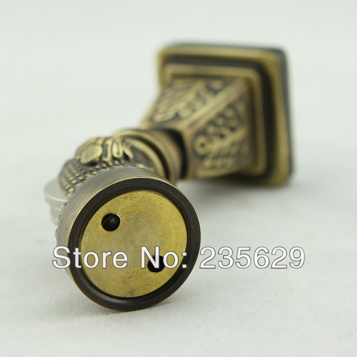Free Shipping Wall Mounted Brass Door Stopper Suitable