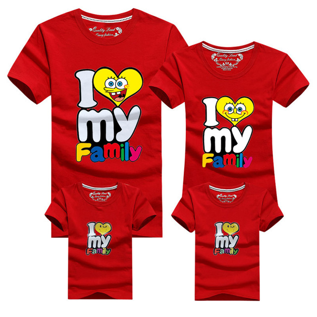 Мать дочь соответствующие семейные футболки лето семья соответствующие одежды отца ...