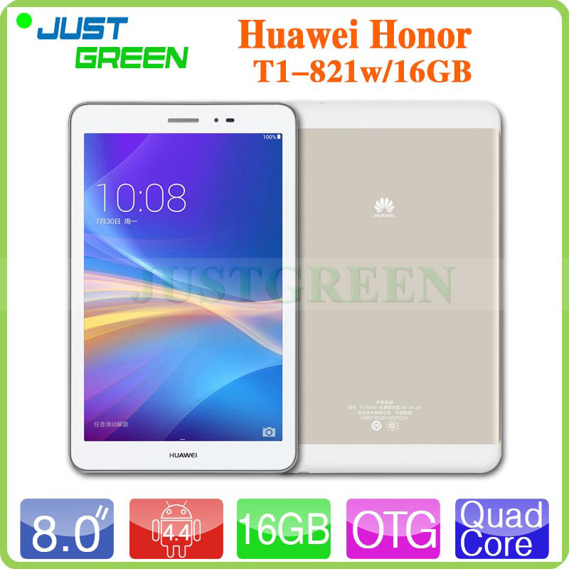 Original 8 inch IPS HUAWEI Tablet PC T1 821W MSM8916 Android 4 4 Quad Core 2GB