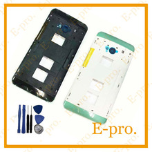 New Brand For HTC One Dual Sim 802t 802d 802w m7 housing Middle Frame Cover in Mobile Phone +Tool Replacement(China (Mainland))