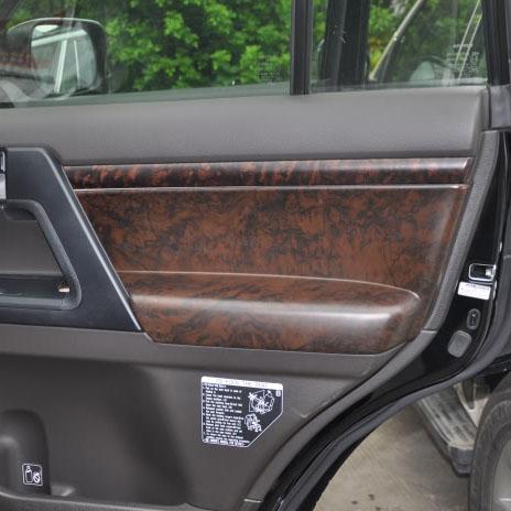 Interior Door Wooden Covers Trim For Toyota Land Cruiser 200 Accessories 2008 2014 In Interior