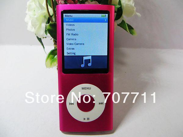 "Wholesale 100pcs/lot New MP4 player 32GB 1.3MP camera 2.2""screen Rolling wheel Shake songs G-sensor(China (Mainland))"