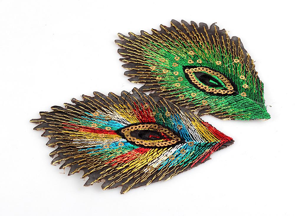 صور مجوهرات الطاوس 20-pcs-10-5X7cm-embroidery-peacock-font-b-feather-b-font-font-b-patch-b-font