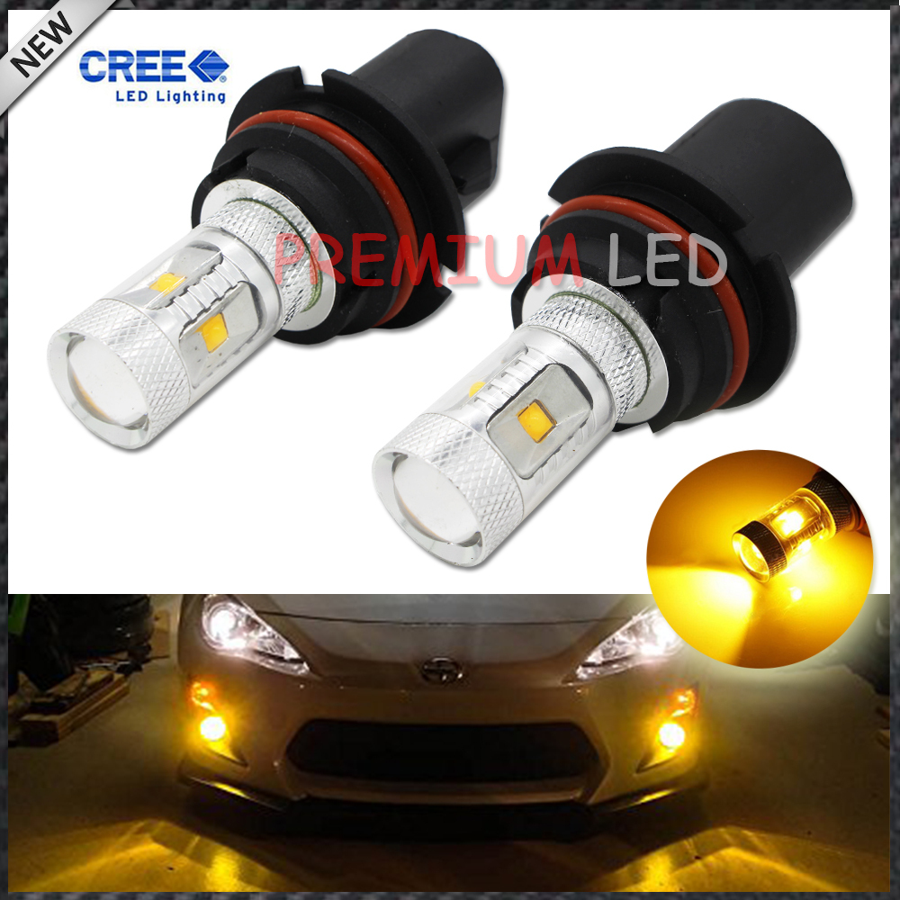 2pcs JDM Gold Yellow 3000K 30W CREE High Power 9007 HB5 LED Replacement Bulbs For car Headlights Fog Driving Lamps<br><br>Aliexpress