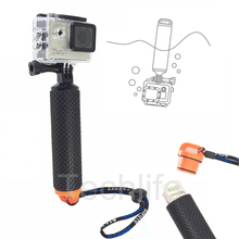 Buy Go pro Floating Bobber Hand Grip Gopro Hero 5 4 Float Pole handle Slefie Stick SJCAM SJ4000 action camera 20 for $5.49 in AliExpress store