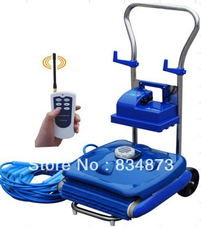 Automatic swimming pool cleaner Wall-Climb cleaner with Remote controller(China (Mainland))