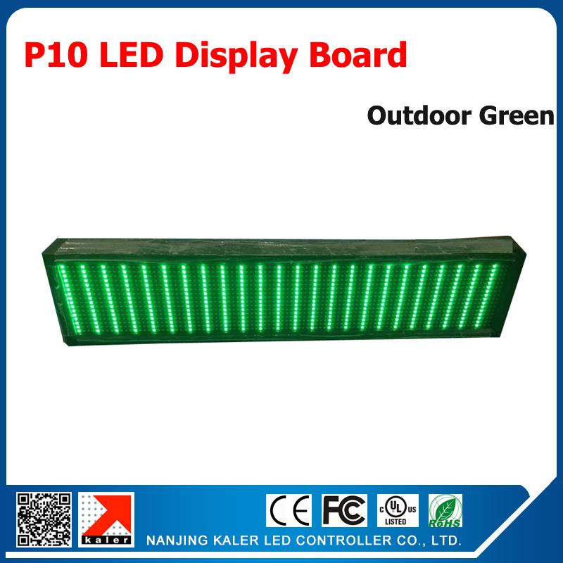 Advertising led display P10 outdoor led display screen 320*160mm green led panels waterproof led sign(China (Mainland))