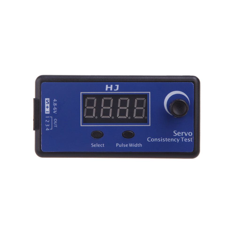 Brand HJ Digital Servo Tester / ESC Consistency Tester for RC Helicopter Airplane Car(China (Mainland))