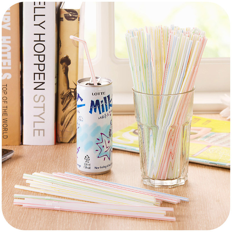 vanzlife disposable bendable straws 100 color dress drink soy milk for pregnant women essential monthly child(China (Mainland))