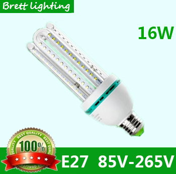 NO.1 ampolletas led lamp e27 220v 110v U-shaped energy saving lamps 1790lm warm white 3200K Cold white light 6500K Hot(China (Mainland))