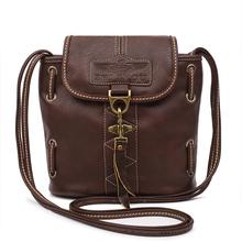 High quality women handbags pu leather bags ladies brand bucket shoulder bag vintage crossbody bags for women(China (Mainland))