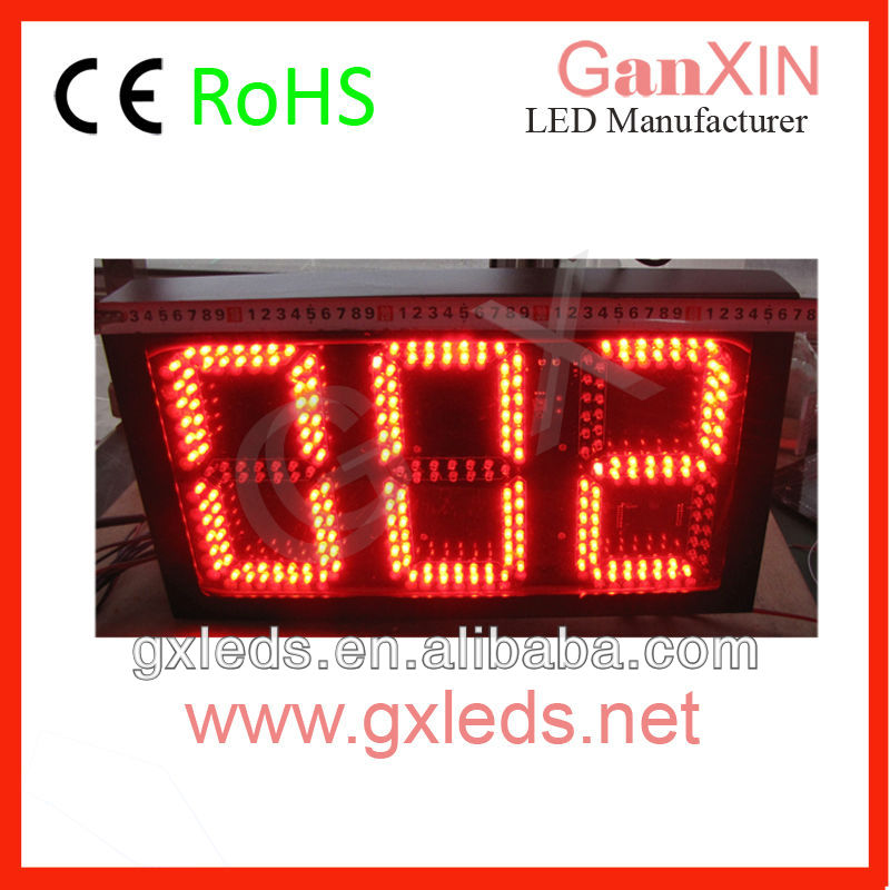 Outdoor traffic counter 3 digit queue management system(China (Mainland))