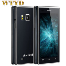 VKworld T2 ROM 8GB+RAM 1GB 3G Smartphone Dual-screen Dual-ear Speaker Business Flip Phone Android 5.1 MTK6580 Quad Core 1.3GHZ(China (Mainland))