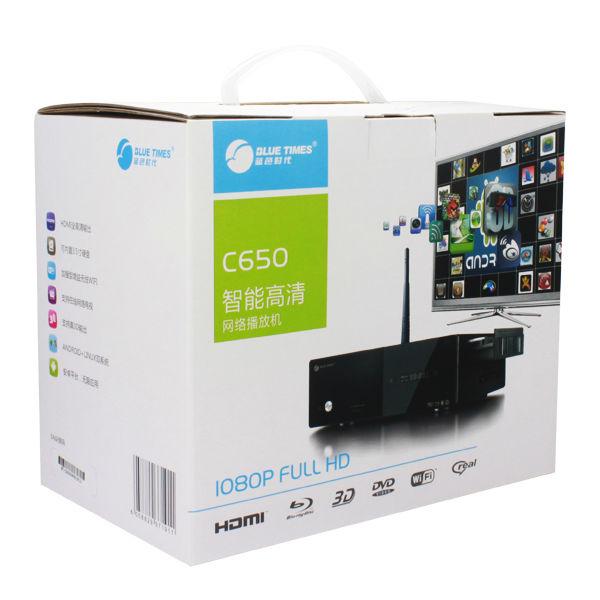 Bluetimes 3546B 3D Android 1080p H.264 MKV Network USB 3.0 Enclosure Wifi HDMI HDD TV Media Player Free Shipping